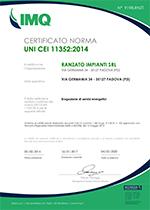 Certificazione ESCO